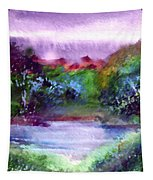 Mystic Lake Tapestry