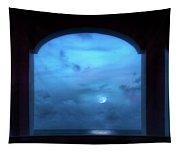 Mystic Moonrise Tapestry