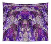 Mystic Waterfall - Purple Hues Tapestry