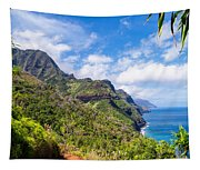Na Pali Coast Kauai Tapestry