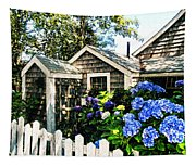 Nantucket Cottage No.1 Tapestry