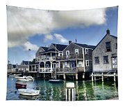 Nantucket Harbor In Summer Tapestry