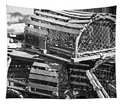 Nantucket Lobster Traps Tapestry
