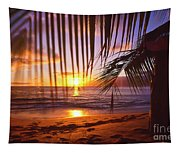 Napili Bay Sunset Maui Hawaii Tapestry