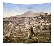 Naples: Mt. Vesuvius Tapestry
