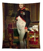 Napoleon Bonaparte In His Study At The Tuileries, 1812 Tapestry