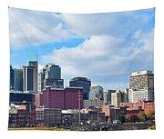 Nashville Panorama View Tapestry