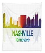 Nashville Tn 1 Vertical Tapestry