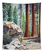 National Park Sequoia Tapestry