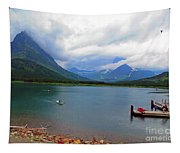 National Parks. Serenity Of Mcdonald Tapestry