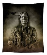 Native American Chief-scabby Bull 2 Tapestry