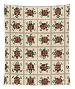 Native American Pattern Tapestry