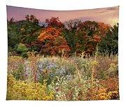Native Garden Sunset Tapestry