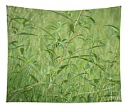 Natural Green Screen Tapestry