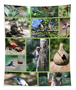 Nature Collage Tapestry