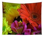 Nature Colorful Bouquet Tapestry