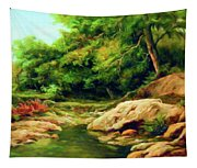 Nature Is Beautiful Impressionism Tapestry