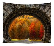 Natures Color Schemes Tapestry