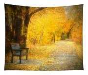 Nature's Golden Corridor Tapestry
