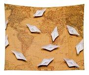 Nautical Adventure Tapestry