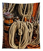 Nautical Knots 17 Oil Tapestry