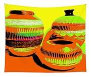 Navajo Pots Tapestry