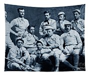 Naval Academy Base Ball Team 1870 Tapestry