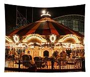 Navy Pier Merry-go-round Chicago Il Tapestry