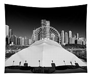 Navy Pier Wheel Tapestry