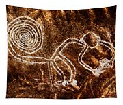 Nazca Monkey Tapestry