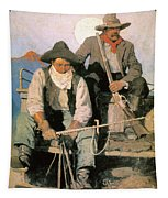 N.c. Wyeth: The Pay Stage Tapestry