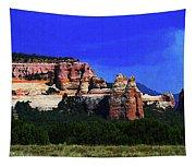 Near El  Morro National Monument Tapestry