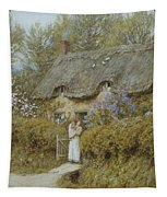 Near Freshwater Isle Of Wight Tapestry