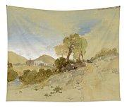 Near San Francisco, Mexico, March 1, 1883 Tapestry