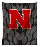 Nebraska Cornhuskers Uniform Tapestry