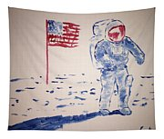 Neil Armstrong Tapestry