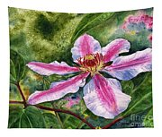 Nelly Moser Clematis Tapestry
