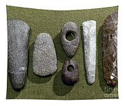 Neolithic Tools Tapestry