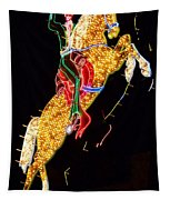 Neon Cowboy Tapestry