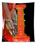 Neon Nathans Tapestry