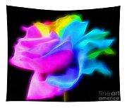 Neon Romance Tapestry