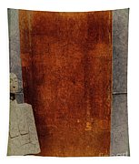 Nero Rustic Sculpture Wall Tapestry