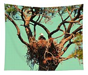Nesting Bald Eagle Tapestry