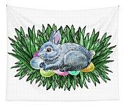 Nesting Easter Bunny Tapestry
