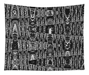 Net Leaf Hackberry Winter  Branch Abstract  Tapestry