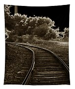 Never A Straight Path Tapestry