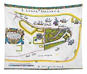 New Amsterdam Map, 1661 Tapestry