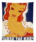 New Deal: Wpa Poster, 1936 Tapestry