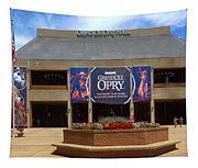 New Grand Ole Opry House Tapestry
