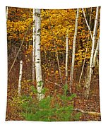 New Growth Old Leaves Tapestry